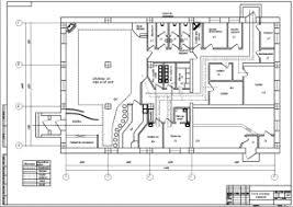 чертежа кафе на мест листа формата А Чертежи Чертежи 3 чертежа кафе на 60 мест 3