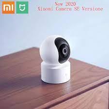 Orijinal Xiaomi Mijia akıllı IP kamera HD 1080P 2.4G Wifi kablosuz 360  geniş açı 10m gece görüş akıllı güvenlik mihome 360° Video Camera