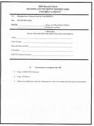 Copy Of Incident Report Audit Report