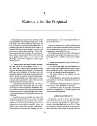 rationale for the proposal investing in research a proposal page 17