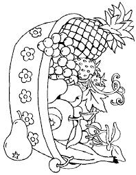 Disegni Di Frutta Da Stampare Az Colorare