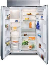 sub zero side by side refrigerator. Beautiful Side SubZero BI42SDO  Interior View For Sub Zero Side By Refrigerator