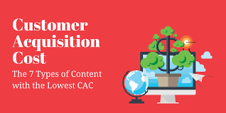 customer acquisition cost the 7 types of content with the lowest customer acquisition cost
