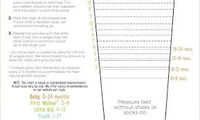 Kids Shoe Size Chart Printable Stride Rite Sizing Chart Shoe Size Printable Johnvarano