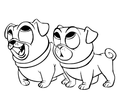 Puppy Dog Coloring Pages Secrets Pals To Download And Print For Free