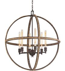 elk lighting 63066 6 natural rope oil rubbed bronze 6 light chandelier undefined