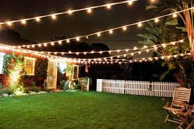 decorative outdoor backyard lighting ideas