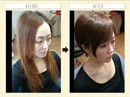 丸顔や面長に似合わない髪型とは女性編 髪型 ボブ 目が小さい