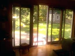 pella sliding door adjustment sliding doors garage glass