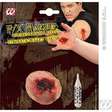 fake bullet wound sfx stigmata bullet makeup effect special effects 8003558415908 ebay