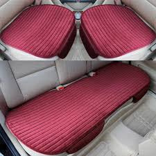 universal front back winter car seat cover velvet breathable keep warm car seat cushion anti skid pad protector mat infant baby car seat covers infant car
