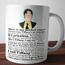 the office coffee mugs. perfect crime mug the office coffee mugs d