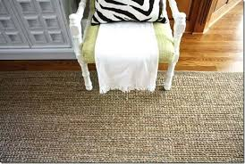 boucle jute rug do you have a natural rug in your home whats been your experience