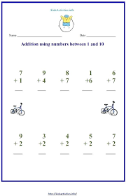 Addition And Subtraction Kindergarten Kindergarten Worksheets ...
