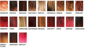 Lace Wig Hair Color Chart Freetress Color Charts