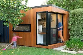 backyard home office. Inoutside Creates A Small Backyard Office Home F