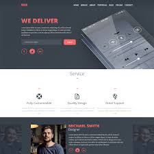 Personal Resume Website Me Resume Personal Portfolio Responsive Template Free Download 62