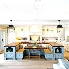 kitchen booth furniture. Kitchen Dining Booth In Built Into Island . Furniture E