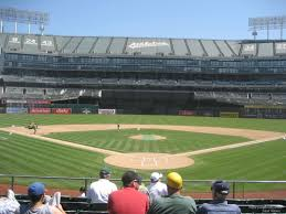Ringcentral Coliseum Section 117 Oakland Athletics