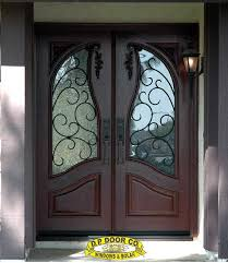 residential double front doors. Wrought Iron In Mahogany Double Front Doors 5 Foot. Residential S