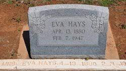 Eva True Hays (1880-1947) - Find A Grave Memorial