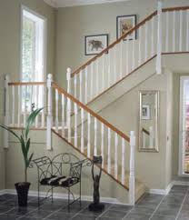 White Pre-Primed Stair Parts. Ideas
