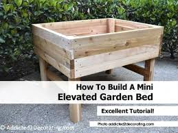 building a garden box. Related Wallpaper For How To Build A Vegetable Garden Box Building O