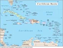 map of the caribbean  thinglink