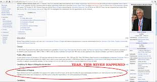 And This Is Why Were Careful When Citing Wikipedia Imgur