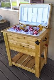 Table Drinks Cooler Best 25 Ice Chest Ideas Ideas On Pinterest Handmade Man Cave