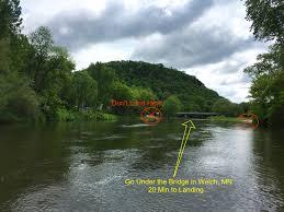 13 mile canoe kayak rafting cannon river trip cannon falls to Welch Mn Map 13 mile river trip cannon falls to welch, mn welch village mn map