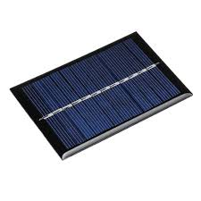 3pcs <b>0.6W 6V</b> 90*60*3mm <b>Mini</b> Photovoltaic Epoxy Solar Panel DIY ...