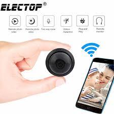 Electop SQ12 <b>Mini Camera</b> Small <b>Cam</b> HD <b>720P Sensor</b> Night ...