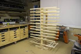Cabinet Door Drying Rack