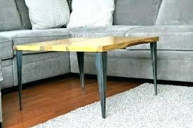 charming coffee table legs metal for metal table legs diy coffee table with modern metal table