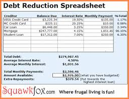 Debt Tracker Spreadsheet Debt Tracker Spreadsheet Theomega Ca