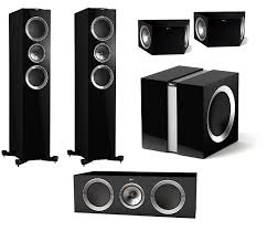 kef 5 1 surround sound speakers. kef r700 5.1 home theatre speaker package kef 5 1 surround sound speakers
