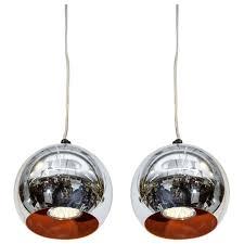 mid century pendant lighting. Mid Century Modern Chrome Ball Pendant Lights After Verner Panton Hanging Light Lamp Kitchen \u0026 Dining Lighting
