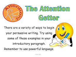 Example Of Attention Getters For Essays Attention Getters For Essays Examples