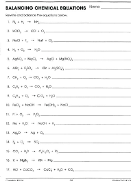 balancing addition and subtraction equations problems worksheet chemical writing practice d6 extra answers of word w