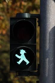 Pedestrian Light Crossing Hd Wallpaper Black Walk Sign Light Little Green Man