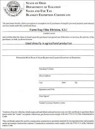 Sales Tax Exempt Certificate Cancellation Letter 2014 Year Final