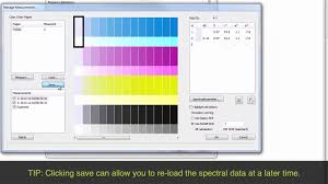 Printer Linearization In The Ergosoft Rip Software Youtube