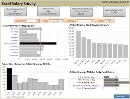 Excel Salary Survey Dashboard Contest Winners Chandoo Org Learn