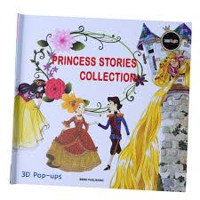bolehdeals early childhood education kids story book 3d pop up books princess story