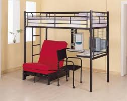 twin xl loft bed frame from stainless steel tubing on gunmetal grey paint code also built bedroomstunning breathtaking wooden desk chair wheels