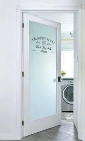 pantry door ideas half glass pantry door laundry room door ideas adding a frosted glass door