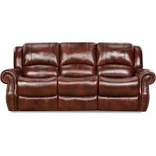 cambridge oxblood telluride leather double reclining sofa 98528drs ob the home depot