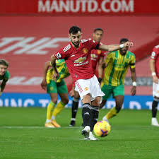 Manchester United 1-0 West Bromwich Albion: Bruno Fernandes nets penalty as  Reds strike lucky - The Busby Babe