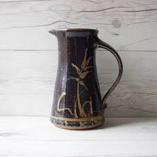 Decorative Ceramic Pitchers Shop Blue Ceramic Pitcher on Wanelo 46